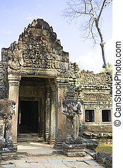 Preah Khan, Cambodia - Image of UNESCO's World Heritage Site...