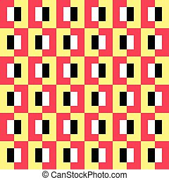 58-5 - Seamless Square Pattern. Abstract Background. Vector...