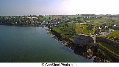 kinsale, Kork,  charles, Luftaufnahmen, grafschaft, irland,  fort