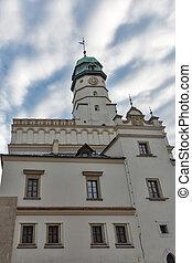 Kazimierz Town Hall in the Jewish district. Krakow, Poland....