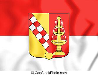 Wappen_Heilsbronn - 3D Flag of Heilsbronn (Bavaria),...