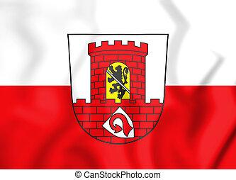 Wappen_Höchstadt_an_der_Aisch - 3D Flag of Hochstadt an der...