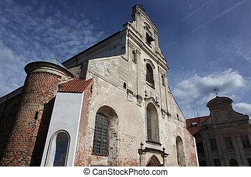 The Vilnius old church