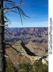Colors Of The Grand Canyon - The Grand Canyon in Arizona,...