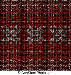 Christmas knitted background. EPS 10 vector
