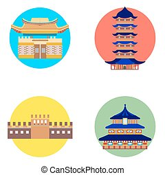 china icons set