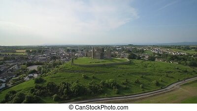 Aerial, Rock Of Cashel, County Tipperary, Ireland - Native...