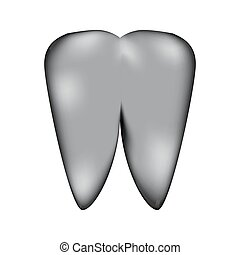 Tooth sign icon. - Tooth sign icon on white background....