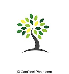Ancestry or Genealogy Icon with Family Tree - Ancestry /...
