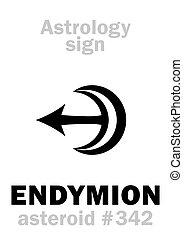 Astrology: asteroid ENDYMION - Astrology Alphabet: ENDYMION,...