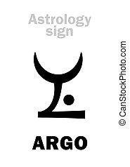 Astrology: constellation ARGO (Argo Navis) - Astrology...