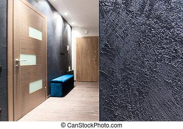 Interior design - rough wall texture