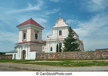 Golshany, Belarus the monastery. - Golshany,Hrodna Voblast,...