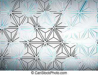 Triangular background - Creative triangular background....