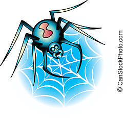 Tattoo Design Spider Clip Art