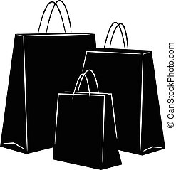 Shopping Bags silhouettes