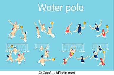 Water polo set.