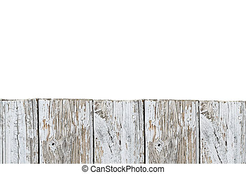 Old Weathered Wood Planks Background