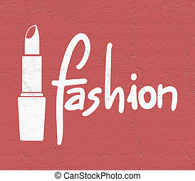 red fashion sign
