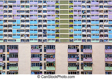 Old Public Residential Estate in Hong Kong - Choi Hung or...