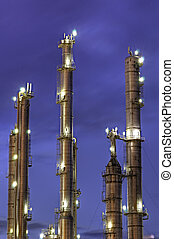Chemical Towers - High Dynamic Range impression of early...