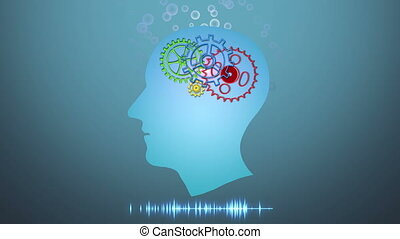 Brain works, Artificial intelligence (AI) and High Tech...