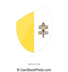 Flag of Vatican City.