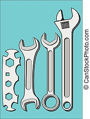 KEYS WRENCHES TOOL