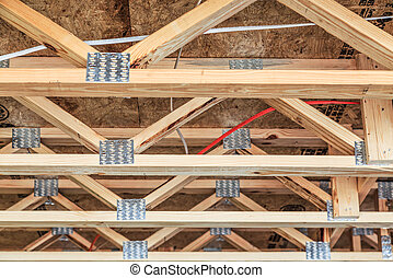 Trusses and Plates in New Home Construction