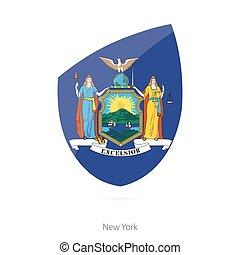 Flag of New York.