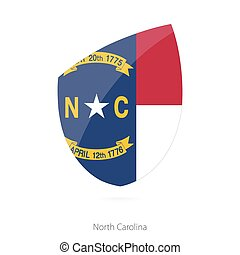 Flag of North Carolina.