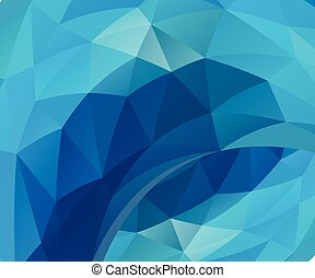 Blue vector background