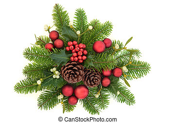 Decorative Christmas Greenery