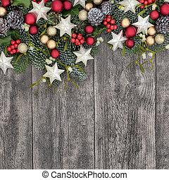 Christmas Background Border - Christmas background border...