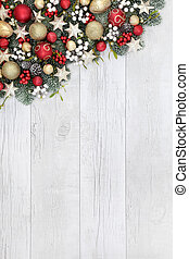 Christmas Bauble Border