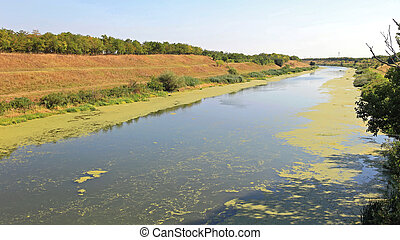 Canal Water - Artificial Waterway Canal DTD in Vojvodina...