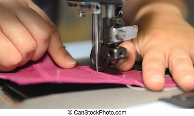 Shoemaker repairing shoes. Slow motion. - Shoemaker...