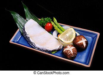 Steak sable fish set - Japanese style Steak sable fish set...