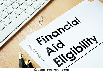 Financial Aid Eligibility. - Financial Aid Eligibility and...
