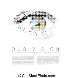 Our vision template - Vector template for Our vision...