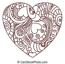 St. Valentines Day - Heart symbol - The symbol of St....