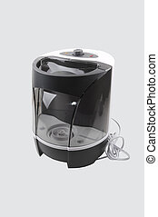 An new humidifier - A dark gray and white humidifier...