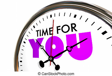 Time for You Free Moments Clock Hands Ticking 3d...