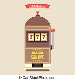 Slot machine gambling casino item