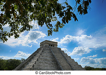 Chichen,  itza,  México