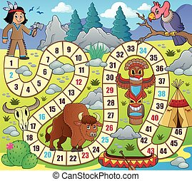Board game topic image 1 - eps10 vector illustration.
