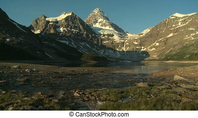 Mount Assiniboine in morning light