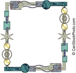 cherish frame - frame or border for scrapbook and collage