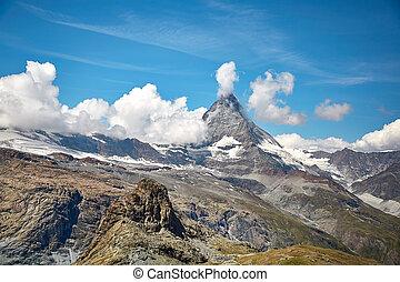 Gornergrat Zermatt, Switzerland, Matterhorn - Gornergrat...