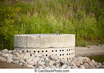 Stormwater Management System - Perforated Concrete Pipe -...